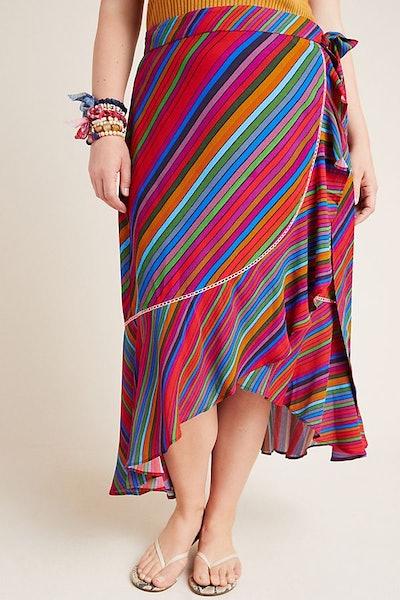 Stevie Plus Wrap Skirt