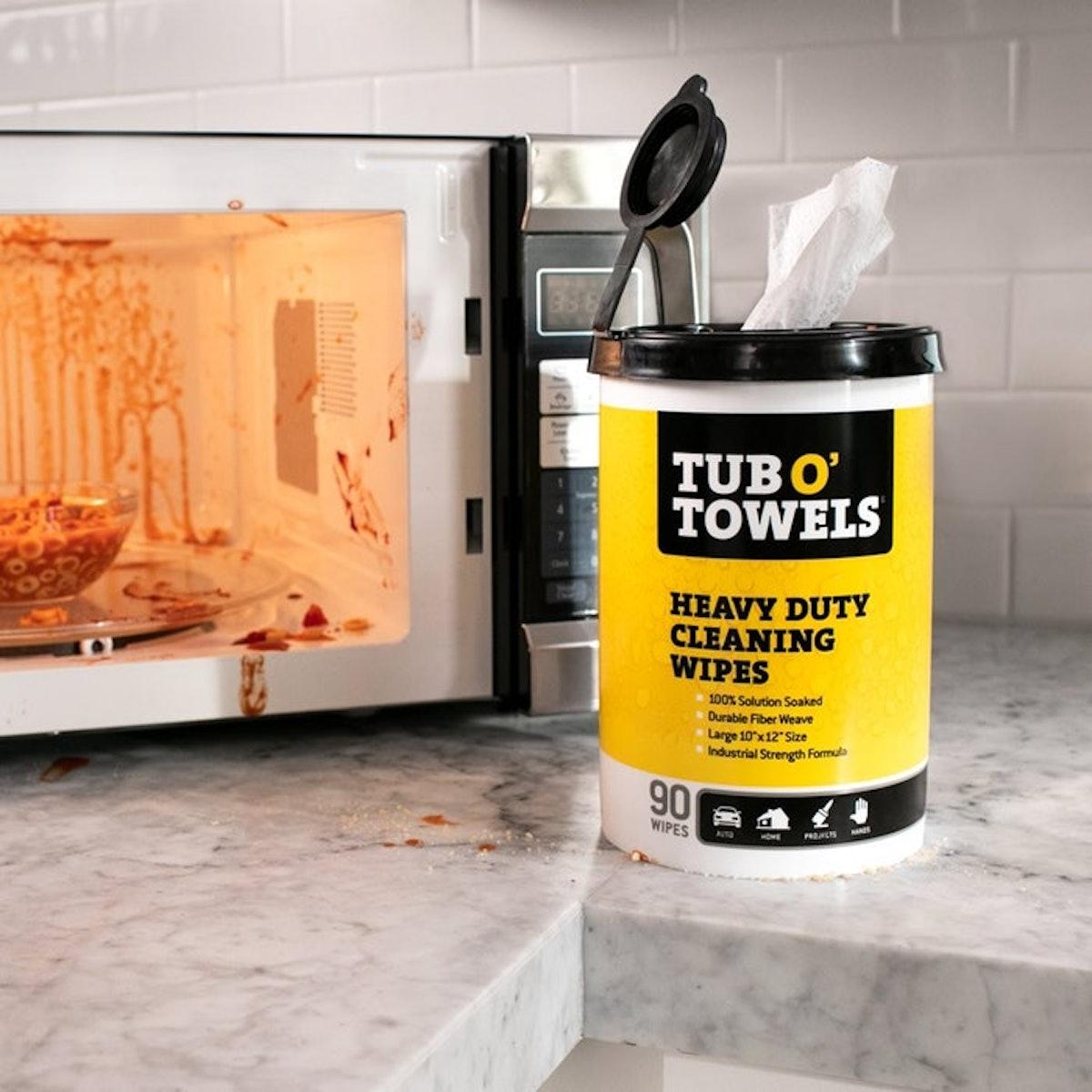 Tub O Towels Cleaning Wipes