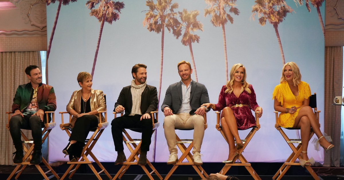 How Many Episodes Is The 'BH90210' Reboot? It Puts A Meta Twist On Familiar Material