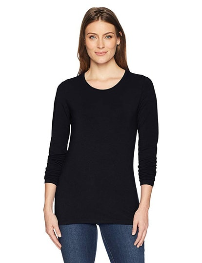 Amazon Essentials Women's Classic-Fit Long-Sleeve Crewneck T-Shirt