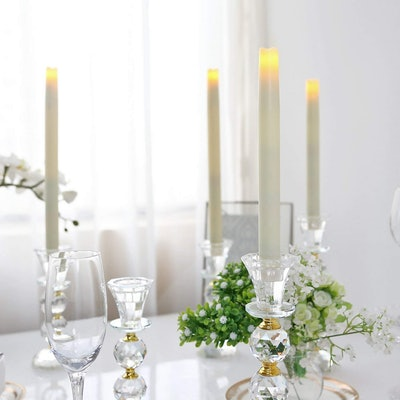GiveU Flameless Candelabra Candles (2-Pack)