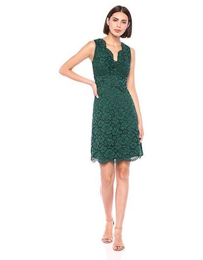 Lark & Ro Sleeveless Lace Dress