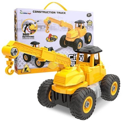 City Construction 4-in-1 Take-A-Part Trucks Vehicle