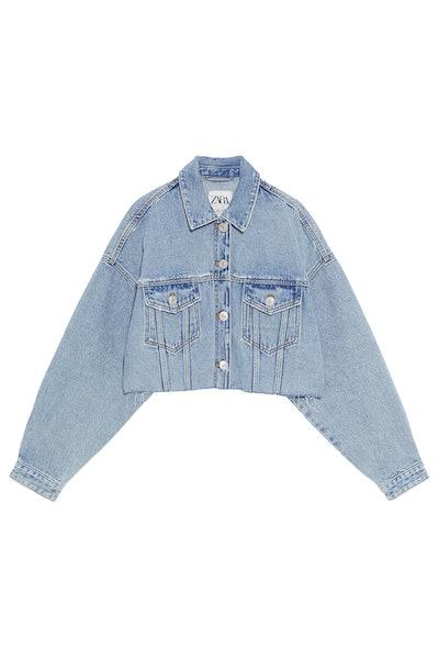 Edited Cropped Denim Jacket