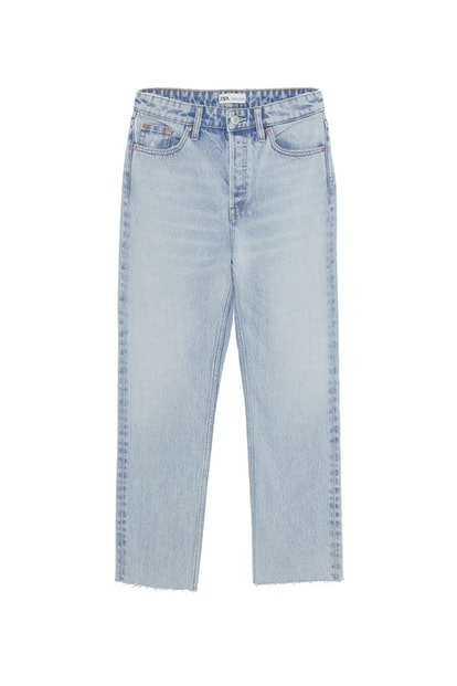 Edited Hi Rise Straight Jeans