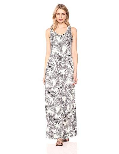 28 Palms Drop Waist Maxi Dress