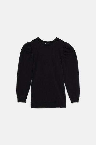 Edited Sweatshirt With Voluminous Sleeves