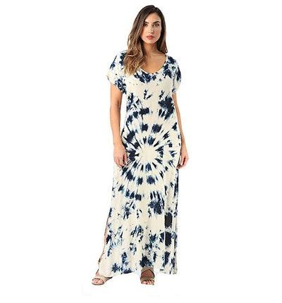Riviera Sun Tie-Dye Maxi Dress