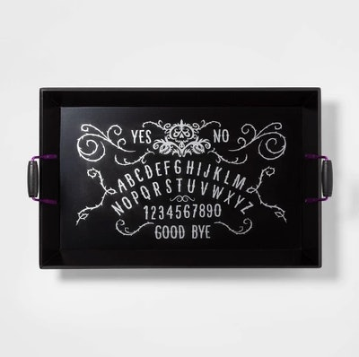 Halloween Letters Wood Serving Tray