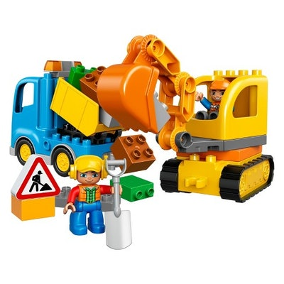 DUPLO Truck & Tracked Excavator