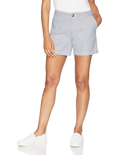 "Amazon Essentials Women's 5"" Inseam Chino Short"
