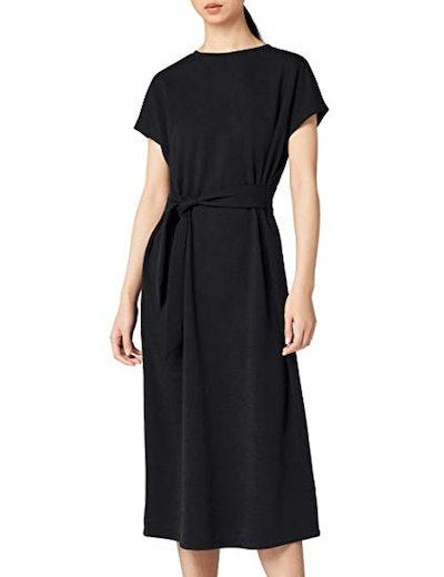 Meraki Tie Front Midi Dress