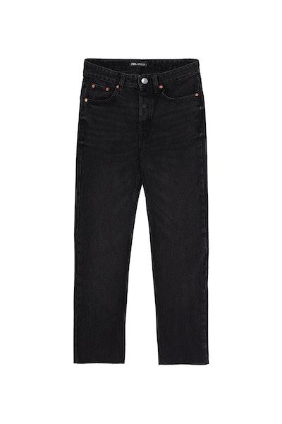 Edited Hi-Rise Straight Jeans