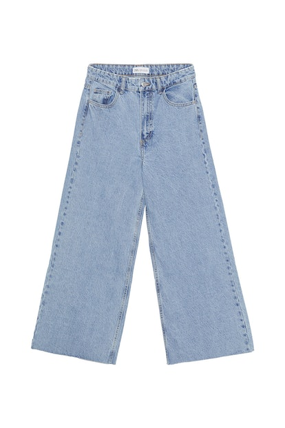 Edited Mid-Rise Culotte Jeans