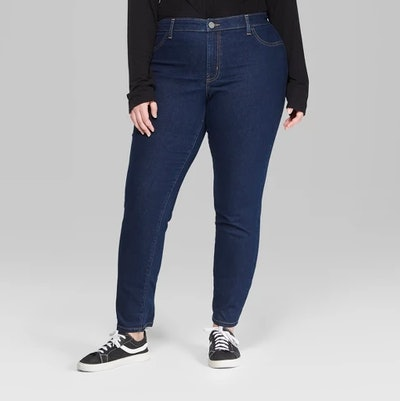 Wild Fable Women's Plus Size High-Rise Skinny Jeans