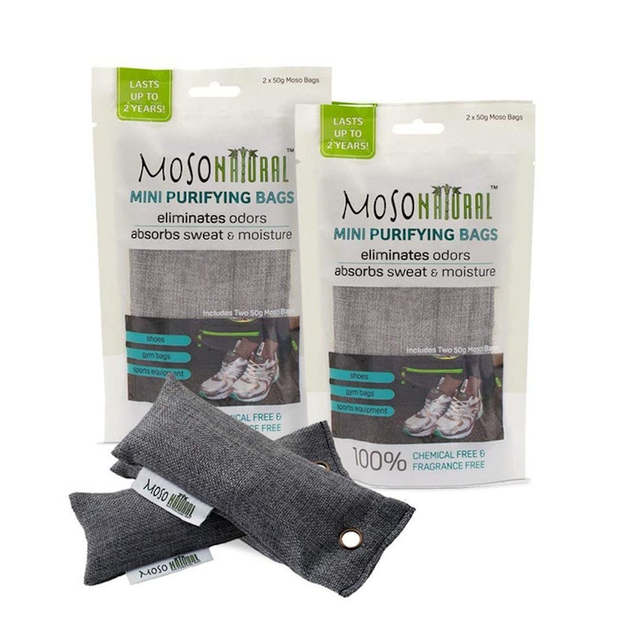 Moso Natural Mini Air Purifying Bags (4 Pack)