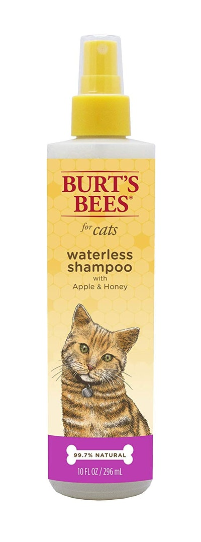 Burt's Bees For Cats Natural Waterless Shampoo With Apple & Honey