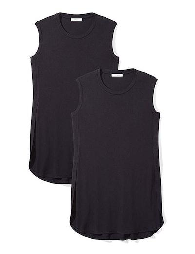 Daily Ritual Women's Jersey Sleeveless Tunic (2 Pack)