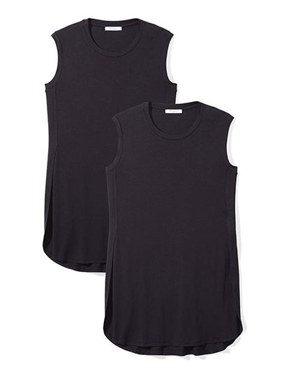 Daily Ritual Women's Jersey Sleeveless Tunic (2 Pack)