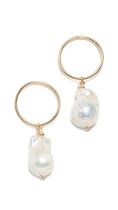 Maison Irem Freshwater Cultured Pearl Earrings