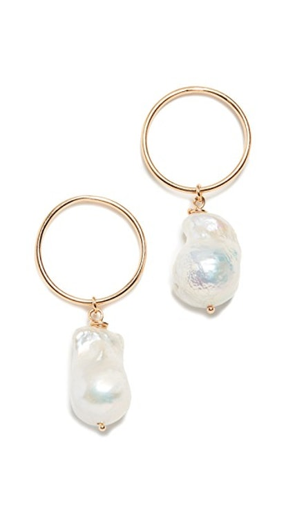 Maison Irem Freshwater Cultured Pearl Earrings