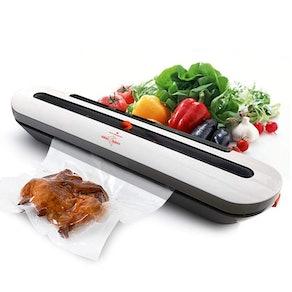 White Dolphin Vacuum Food Sealer