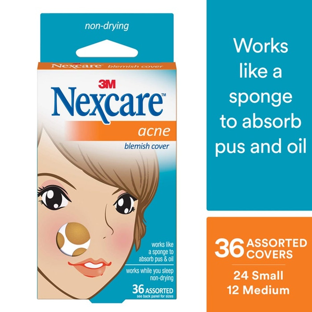 Nexcare Acne Patches (Set of 36)