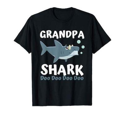 Baby Grandpa Shark Shirt