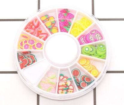 Fruit Polymer Clay Slices Wheel