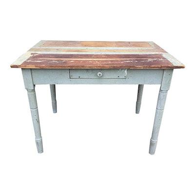 Distressed Farm Table