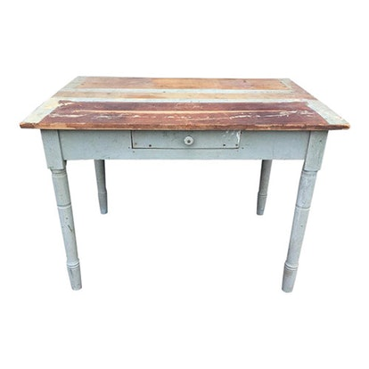 Distressed Farm Table