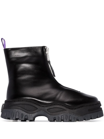 Raven Chunky Ankle Boots