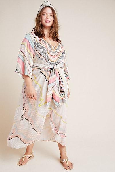 Tara Dolman-Sleeved Midi Dress