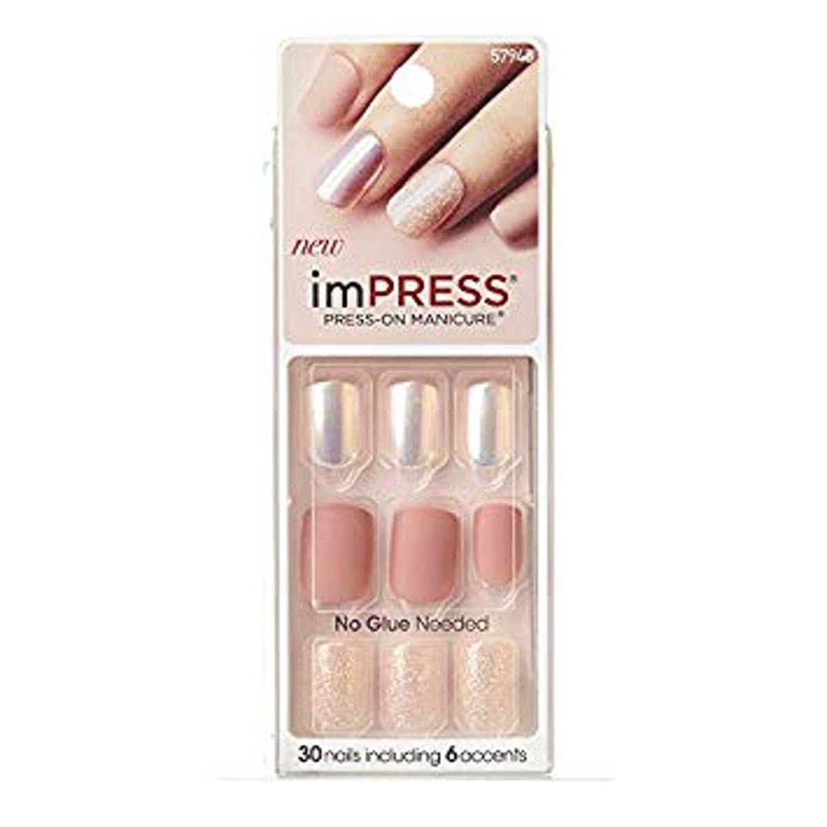 """KISS imPRESS Press-On Manicure in Night Fever"""""""