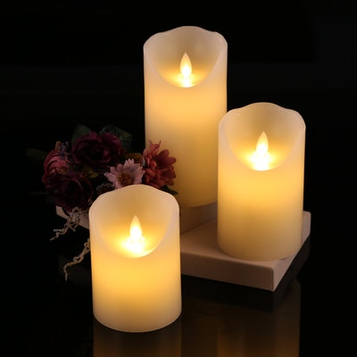Antizer Flameless Candles (3-Piece)