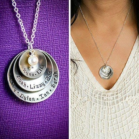Personalized Grandmother Necklace