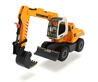 Light and Sound Construction Digger Vehicle