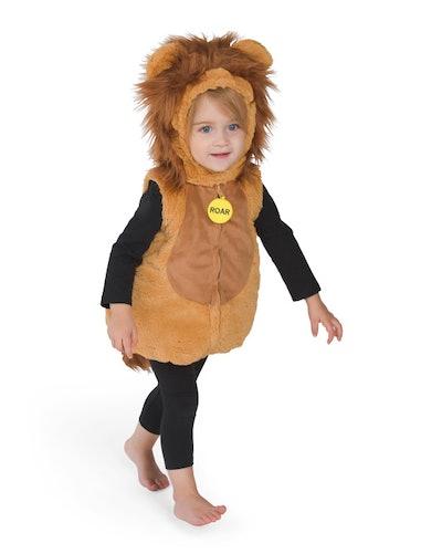 Baby Lion Cub Plush Bubble Costume