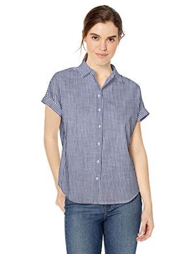 Daily Ritual Broken-In Cotton Shirt