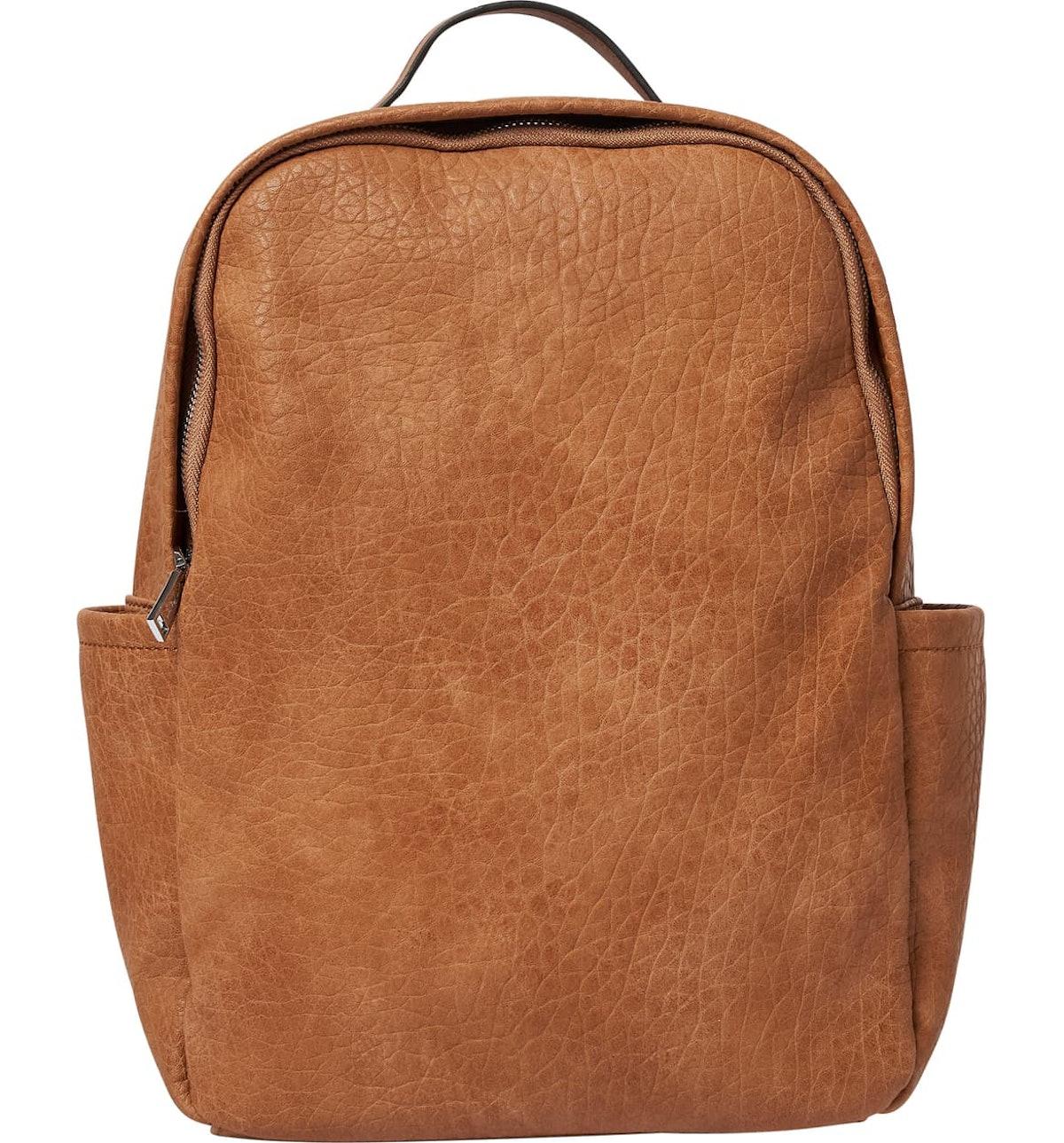 Urban Originals Train Textured Vegan Leather Backpack