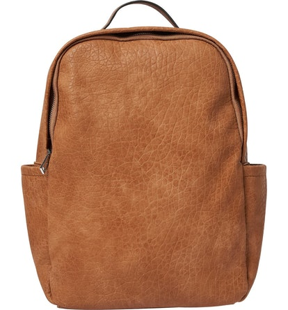 Urban Originals Train Textured Vegan Leather Backpack