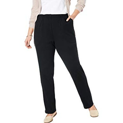 Woman Within Plus Size 7-Day Knit Pant