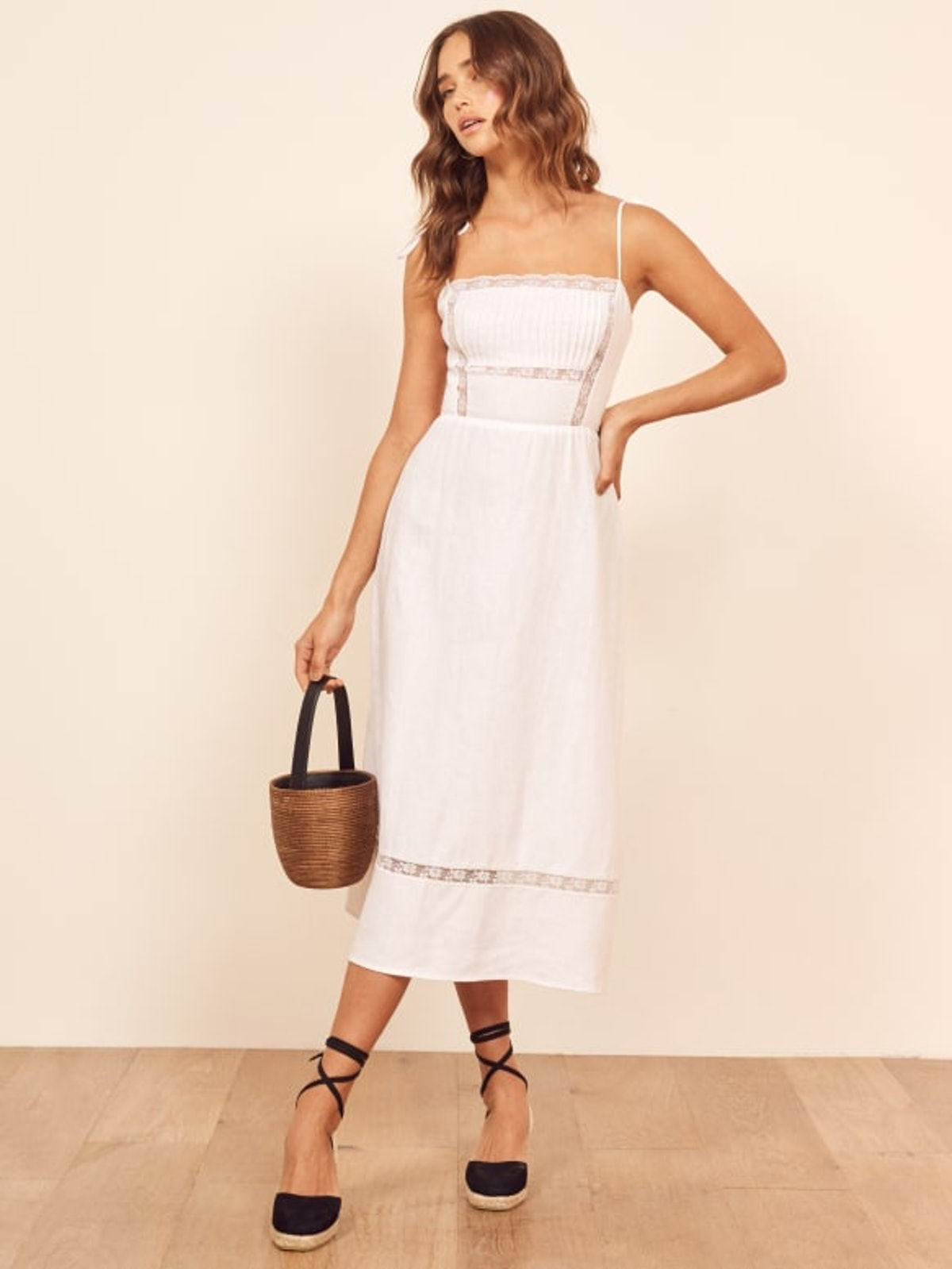 Wyoming Dress in White