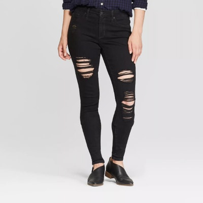 Universal Thread Women's High-Rise Distressed Jeggings