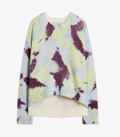 Cotton Tie-Dye Sweater
