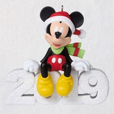 Disney Mickey Mouse A Year of Disney Magic 2019 Ornament