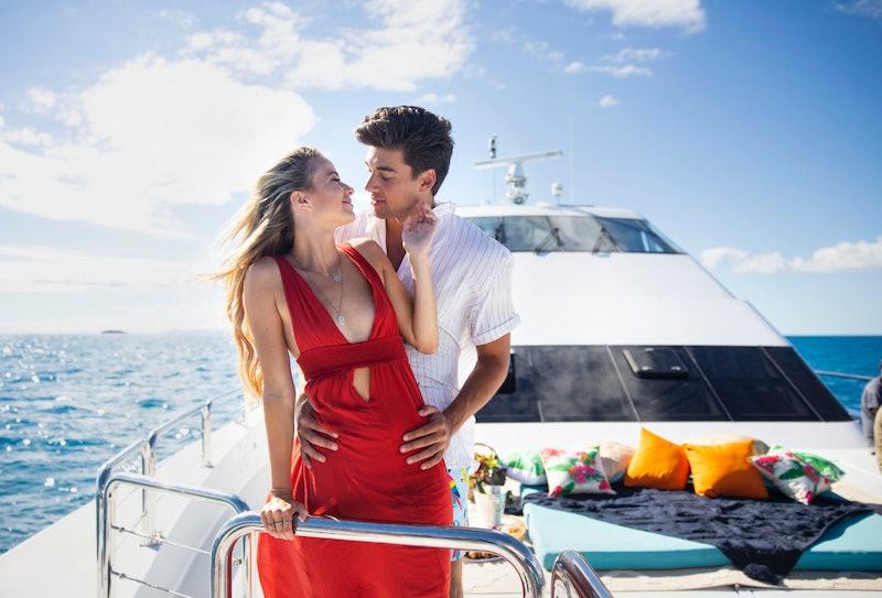 Zac and Elizabeth from 'Love Island' U.S. Season 1.