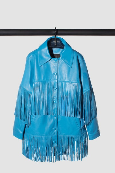 Loretta Fringe Leather Jacket