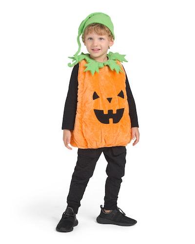 Toddler Pumpkin Plush Bubble Costume