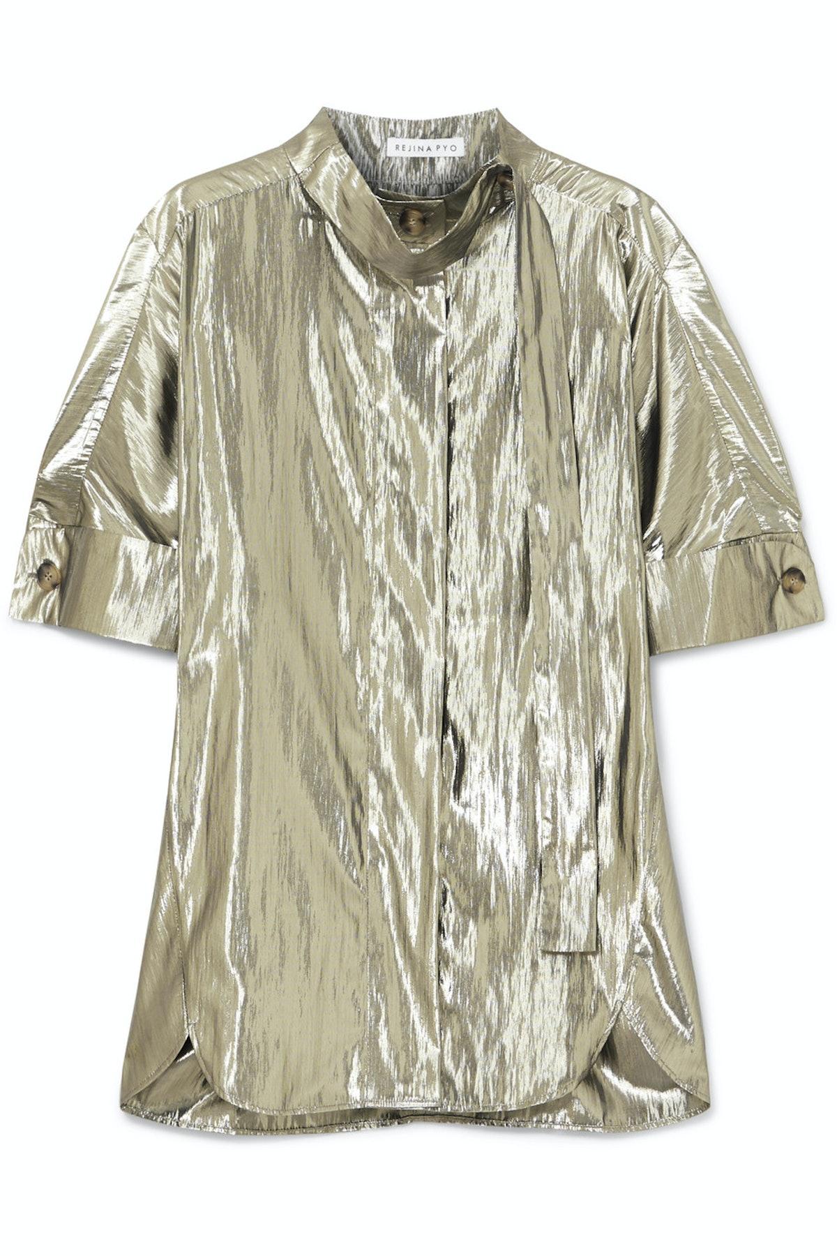 Briana Lamé Shirt